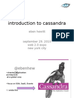 Scaling Web Applications With Cassandra Presentation