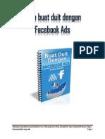 Cara Buat Duit Dengan Facebook Ads