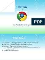 Usabilidade do Chrome
