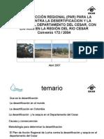 Plan Regional Cesar Desertificacion