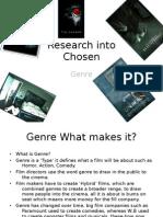 Research Into Genre