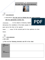 I Have a Dream READING Worksheet