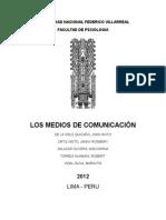 Monografia Terminada de los medios de Comunicación