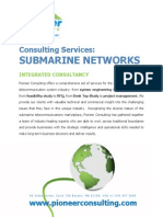 Consulting Services Submarine Networks
