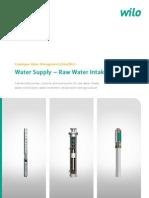 Water Supply - Raw Water Intake