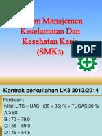 Presentasi SMK3- RATNA