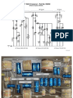 KEF 104/2 Loudspeaker Crossover Circuit Diagram