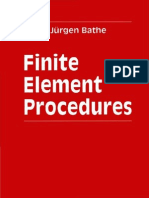 Finite Element Procedures - K J Bathe - 1996