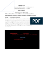 MK0012– Retail Marketing
