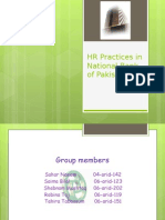 Hr Policies of Nbp