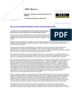 Los Sistemas ERP. México