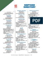 PMM Shipyard Directory