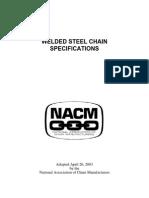 NACM Welded Specs