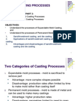 Topic 3 CH11 Part 2 Metal Casting