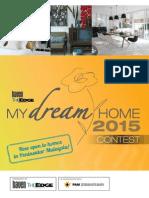 My Dream Home 2015 Contest Form