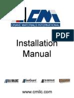 CMI_Installation Manual - Tie Rods