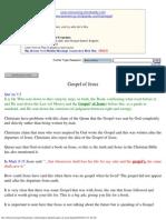 Gospel of Jesus