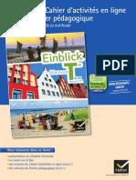 Livret de présentation Einblick Tle