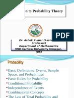 Dr Ashok Kumar Probability