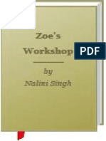 Nalini Singh - Zoe's Workshop (Guild Hunter #6.5)