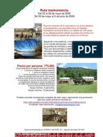 Ruta Trashumancia Pirineo