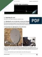 Orientation of Satellite Dish