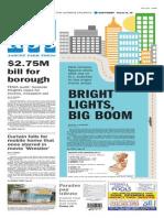 Asbury Park Press front page Tuesday, May 26 2015