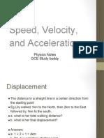 Chapter2 Speed Velocity