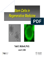 Stem Cells in Regen Med June