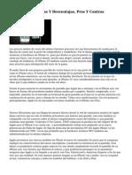 IPhone seis Ventajas Y Desventajas, Pros Y Contras