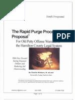 Rapid Purge Process
