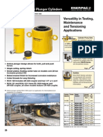 Enerpac Hollow Plunger Catalogue