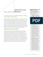 DS QlikView Connector for Use With SAP Netweaver En