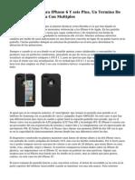 Manfrotto KLYP Para IPhone 6 Y seis Plus, Un Termino De Carcasa Fotografica Con Multiples