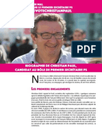 Biographie de Christian PAUL