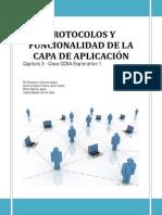 Funcionalidad y protocolos de la capa de aplicación Cap. 3 Cisco CCNA Exploration 1 4.0