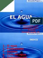 El Agua Presentacion Sebastian Giron