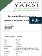 Dermatitis Kontak Alergika