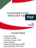 Cq5 Wcm Class