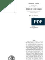 Tristan und Isolde - Thematischer Leitfaden durch die Musik zu Richard Wagners´s Tristan und Isolde