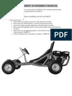 Go Cart Drift II Assembly Manual