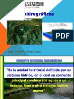 Cuencas hidrográficas.
