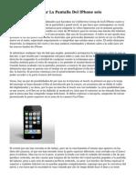 Precio Para Reparar La Pantalla Del IPhone seis