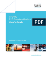 TP9100 P25 Portable Radios User's Guide