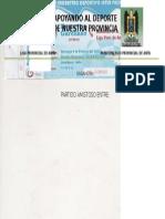 Liga Provincial de Anta Municipalidad Provincial de Anta