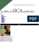 La Crónica de Hoy | Nuevo sistema electoral, más sólido y confiable - Dr. Manuel Añorve Baños