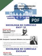 Livro-conteúdos de Sociologia