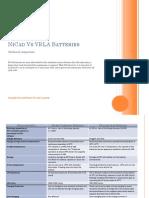 NCvsVRLA Comparison