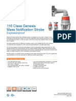 Edwards Signaling 116DEGEXA-FJ Data Sheet