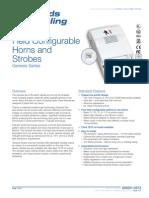 Edwards Signaling EG1F-HDVM Data Sheet